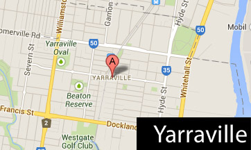 yarraville map